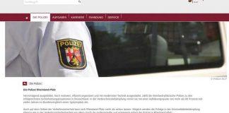 Gelungen - Die Startseite der Polizei Rheinland-Pfalz