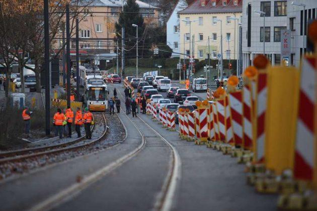 Das steilste Stück der Neubaustrecke (Foto: Stephan Dinges)