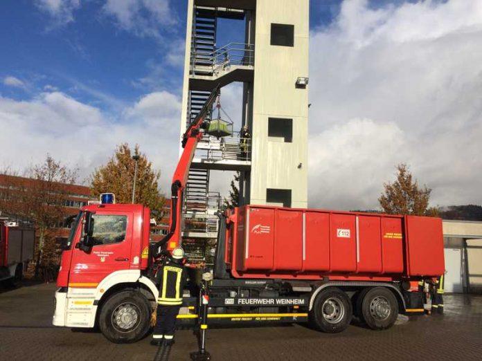 Der Ladekran - Ein wichtiges Hilfsmittel der Feuerwehr