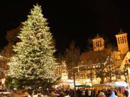 Weihnachtsmarkt in Bensheimer Altstadt (Foto: Stadt Bensheim)