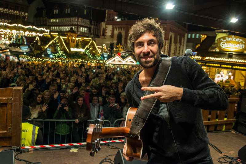 Sänger Max Giesinger (Foto: Stadt Frankfurt)