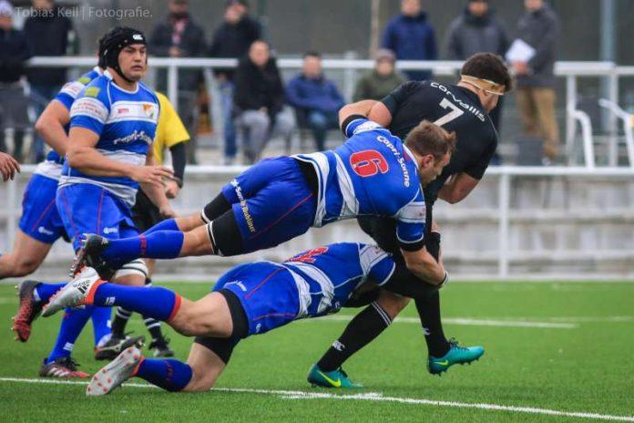 Der HRK bleibt in der Qualifikation zum European Rugby Challenge Cup sieglos (Foto: Tobias Keil - Fotografie)