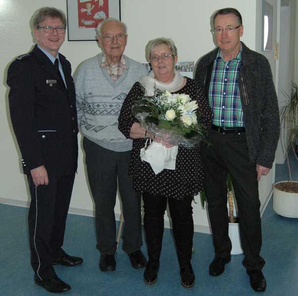 Arno Heeling, Alois Herrmann, Inge Koch, Ulrich Dräger