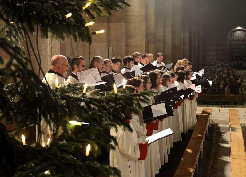 Die Choere der Dommusik gestalteten die Weihnachtsgottesdienste mit (Foto: Klaus Landry)