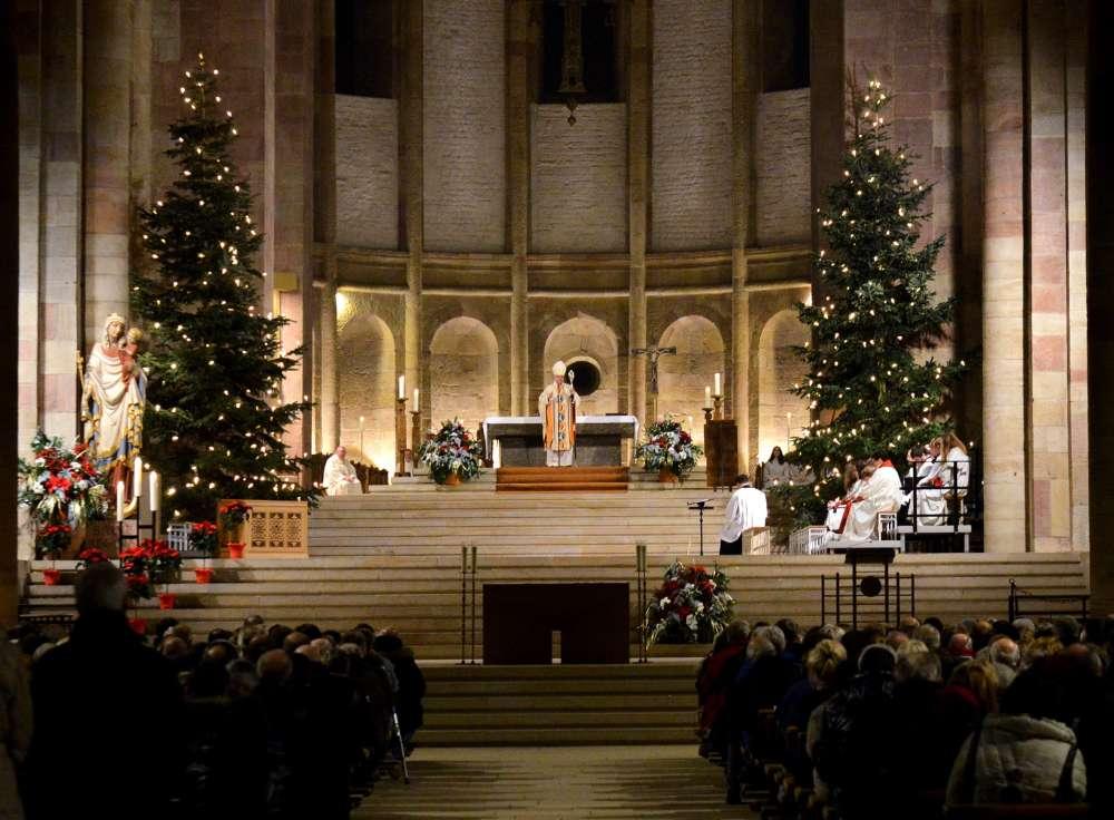Pontifikalamt zur Christmette im Speyerer Dom (Foto: Klaus Landry)