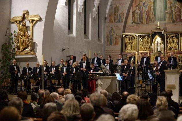 Das Landespolizeiorchester Rheinland-Pfalz (Foto: Holger Knecht)