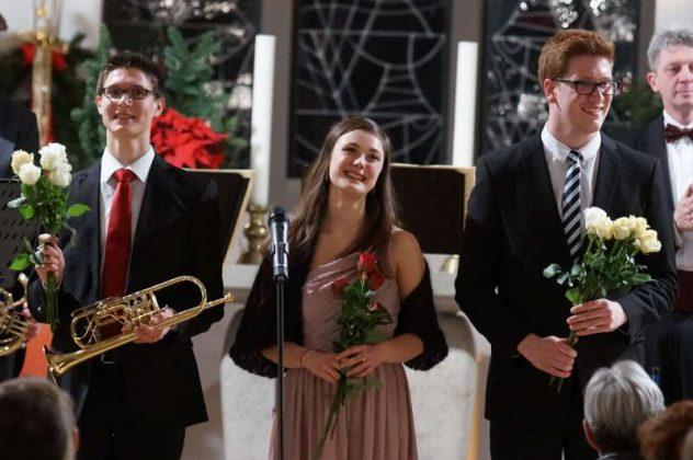Sandro Hirsch, Elena Harsanyi und Constantin Hartwig (Foto: Holger Knecht)