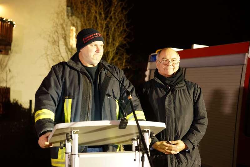 Tobias Bauer und OB Hans Georg Löffler (Foto: Holger Knecht)