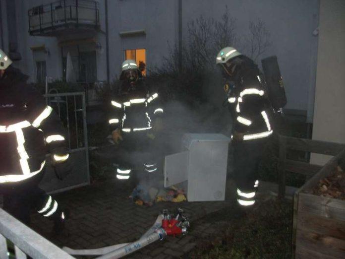 Trockner im keller eines leondinger einfamilienhauses in brand