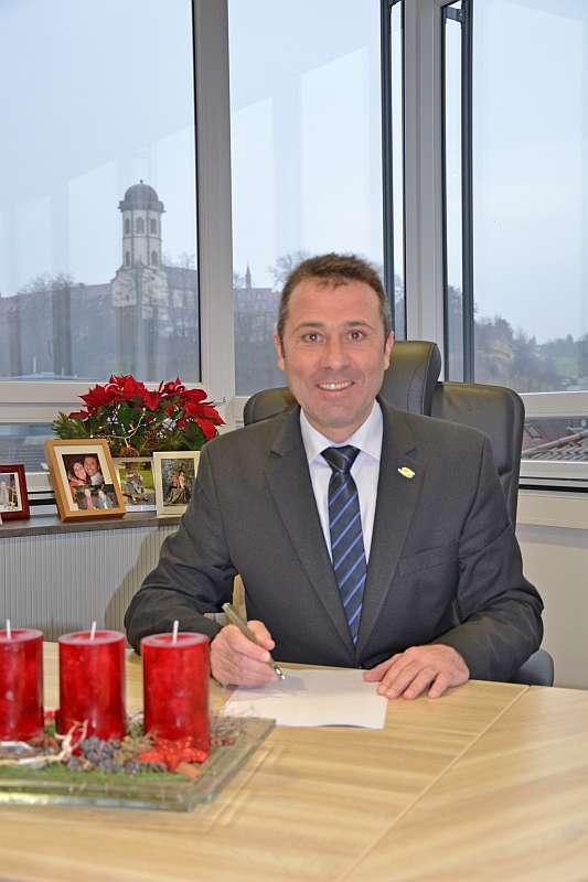 Oberbürgermeister Jörg Albrecht (Foto: Stadtverwaltung Sinsheim)