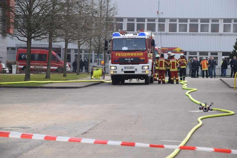 Foto von der Einsatzstelle  (Foto: Fabian Geier / Feuerwehr Landkreis Karlsruhe))