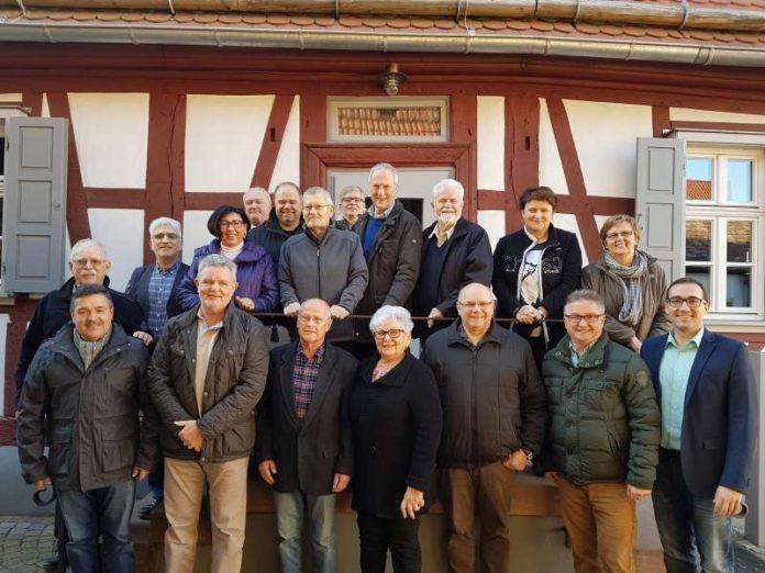 FWG Landkreis Germersheim Klausurtagung 2016 Neupotz Gruppenbild (Foto: FWG Kreis Germersheim)