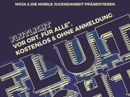 Flutlicht-Plakat