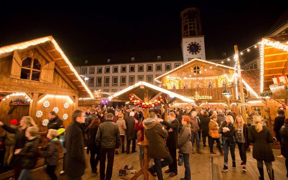 Weihnachtsmarkt Worms (Foto: Bernward Bertram)