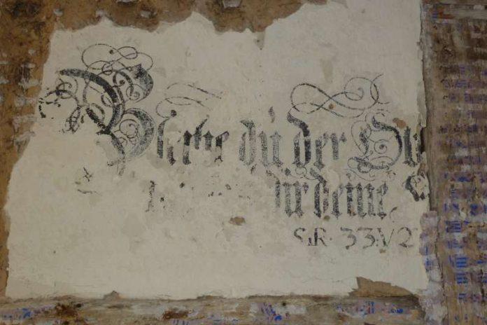 Die Wandmalereien im ersten Obergeschoss des Hauses zum Maulbeerbaum sind nach Einschätzung der Experten von sehr hoher Qualität und einzigartig in Rheinland-Pfalz. (Foto: Stadt Landau in der Pfalz)