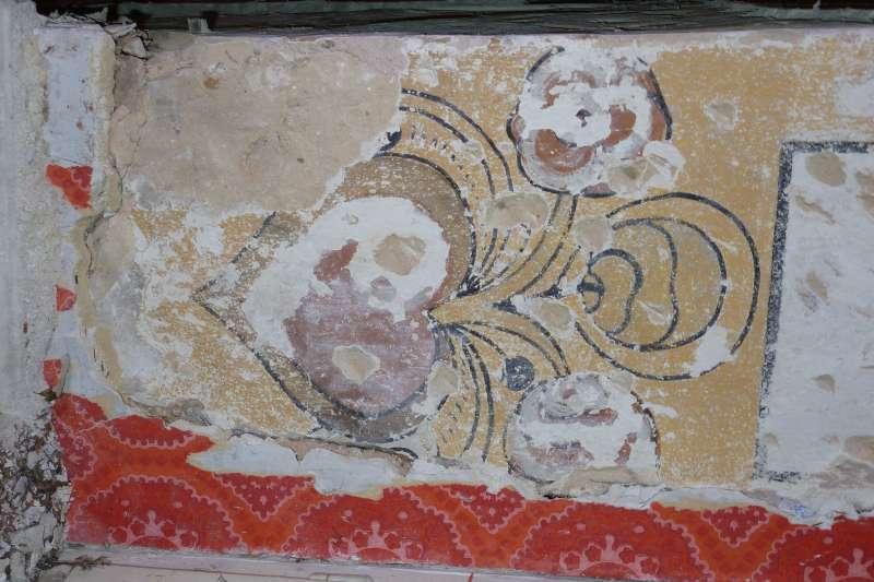 Die Wandmalereien im ersten Obergeschoss (Foto: Stadt Landau in der Pfalz)