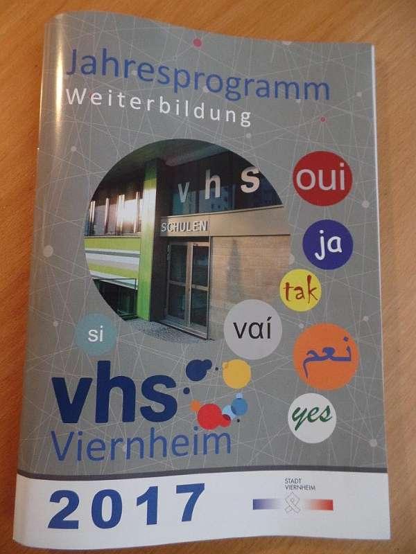 VHS-Programm 2017: Börse, Qi Gong, Knigge-Kurs, Wirbelsäulengymnastik oder Business-Etikette (Foto: Stadtverwaltung Viernheim)