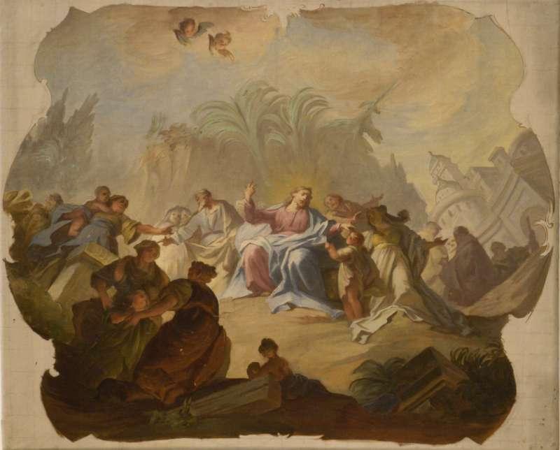 """""""Jesus als Freund der Kinder"""" (Foto: Ursula Rudischer)"""