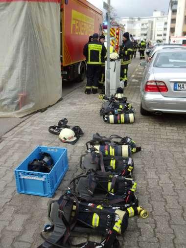 Feuerwehreinsatz in der Linckstraße (Foto: Feuerwehr)