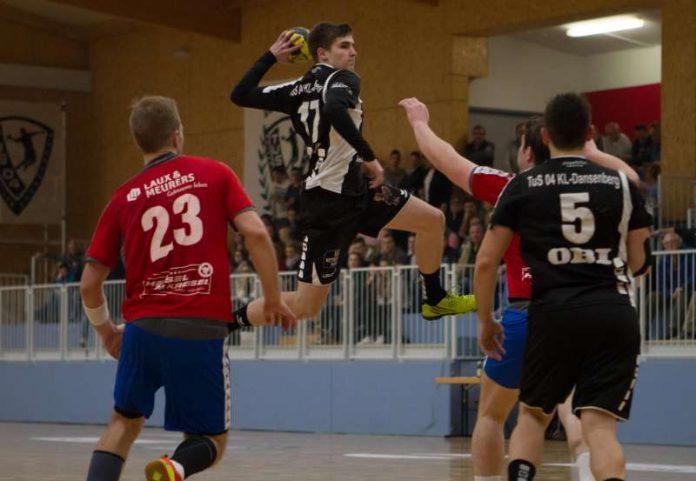 Luca Munzinger - Aktivposten auf der rechten Angriffseite (Foto: TuS 04 KL-Dansenberg)