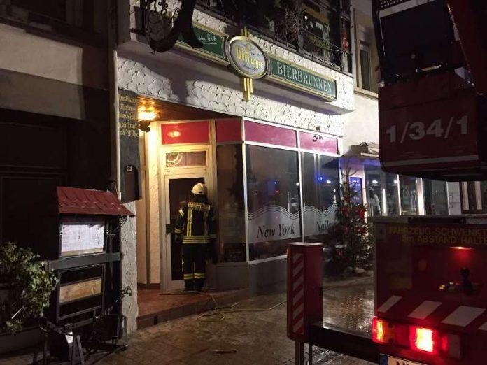 Feuerwehreinsatz in der oberen Hauptstraße (Foto: Feuerwehr Neustadt)