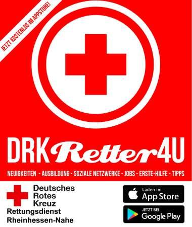 "Logo der App ""DRK-Retter4U"""