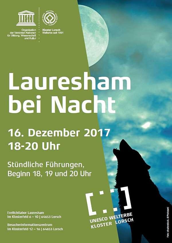 Veranstaltungsplakat (Foto: UNESCO Welterbe Kloster Lorsch)