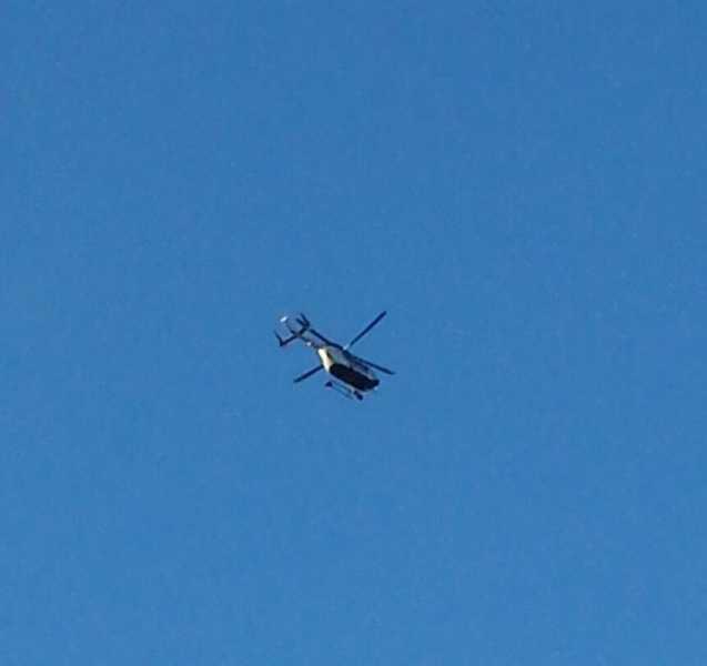 Hubschrauber über Waldfischbach