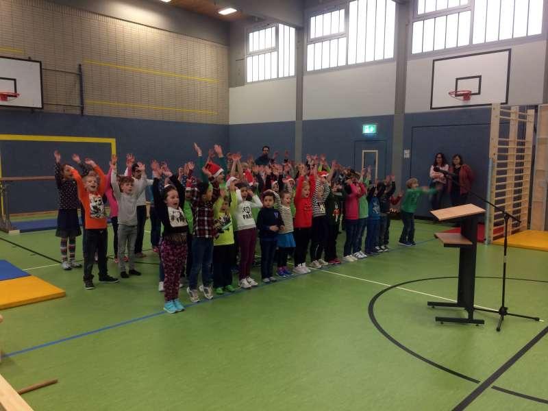 Aufführungen der Kinder der Schöntalschule (Foto: Stadtverwaltung Neustadt)