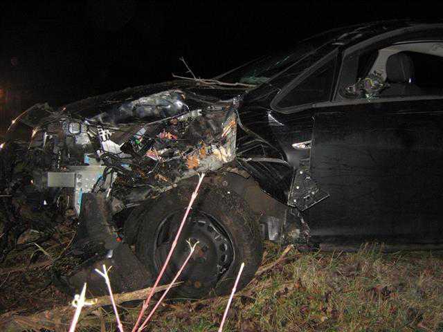 Bei diesem schweren Unfall war laut Polizei Alkohol im Spiel