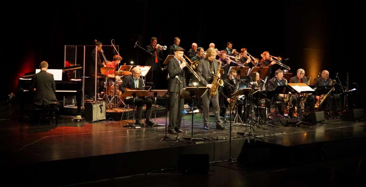 """""""Jazz an Neujahr 2017"""" mit Paul Heller (sax) und Felix Fromm (trb). (Foto: Holger Knecht)"""
