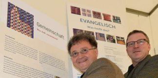 Bilder und Impulse zum Glauben: Michael Landgraf (links) und Gerhard Hofmann. (Foto: lk)