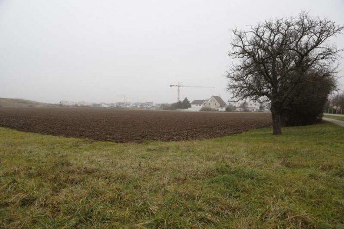 Blick auf das Areal, auf dem Walldorfs «vorläufig vorletztes Wohngebiet» entstehen wird. Für die Begegnungsstätte «Plattform» wird noch ein neuer Standort gesucht (Foto: Helmut Pfeifer)