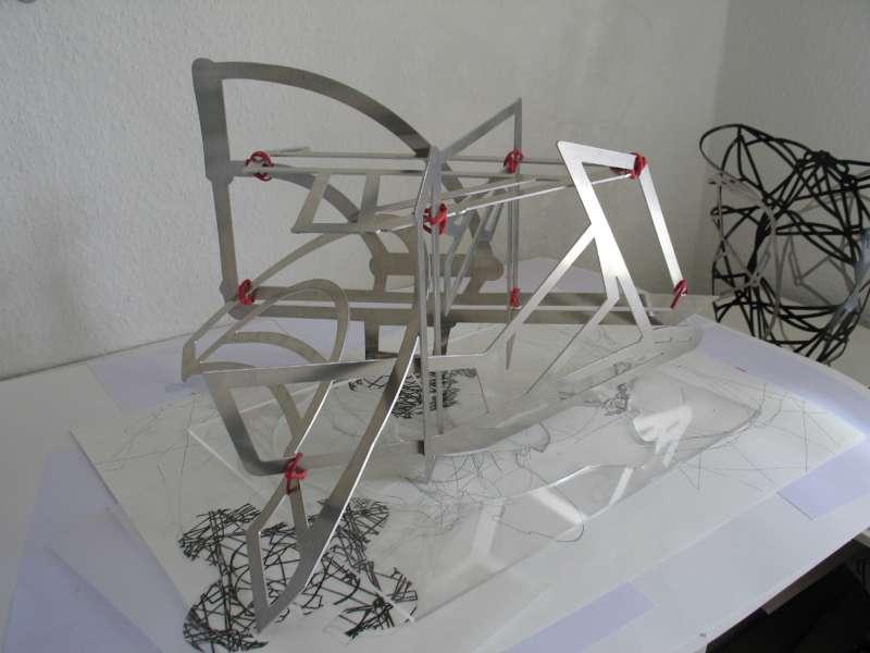 Skulptur von Gertraud Hasselbach (Foto: Patrick Bäumel)