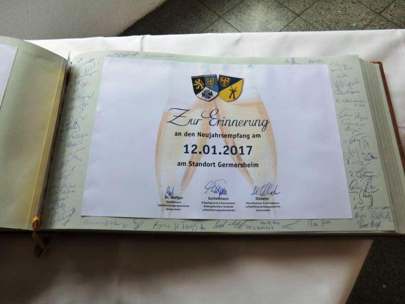Gästebuch (Foto: Wiedemann, Luftwaffenausbildungsregiment)