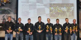 Die Mannschaft des MSC Ubstadt-Weiher wurde zum fünften Mal in Folge deutscher Motoball-Meister und war damit die erfolgreichste Motoball-Mannschaft des ADAC Nordbaden e.V. (Foto: ADAC Nordbaden e.V./Sinz)