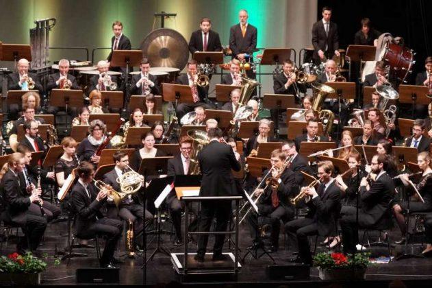 Bläserphilharmonie inkl. LJO-Brass (Foto: Holger Knecht)