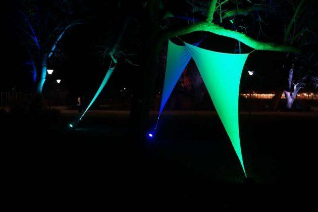 Lichtkunst (Foto: Holger Knecht)