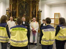 Einführung der neuen Notfallseelsorger in Mainz (Foto: Evangelisches Dekanat Mainz)