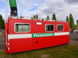 Der Abrollbehälter Presse (Foto: Köhler/Kreisverwaltung Bad Kreuznach)