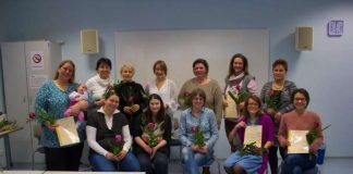 Die Absolventinnen des Kurses, der im Dezember abgeschlossen wurde. (Foto: Nikolai Udwari)