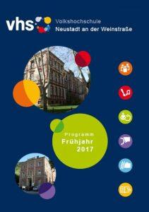 Der Umschlag des Frühjahrsprogramms (Foto: Stadt)