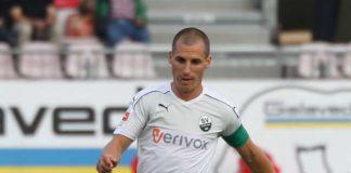 Kapitän Stefan Kulovits bleibt bis 2018 für den SV Sandhausen am Ball. (Foto: SVS)