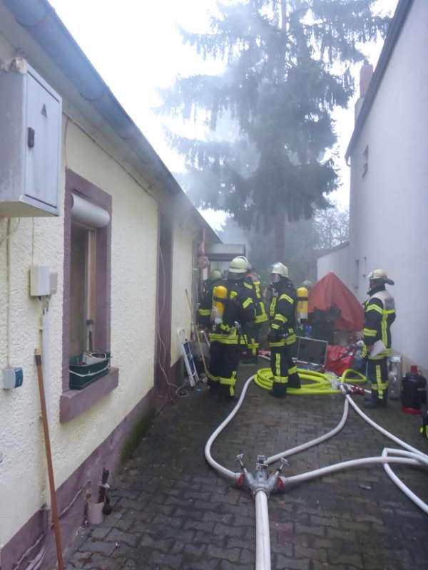 Feuerwehreinsatz in MZ-Finthen (Foto: Feuerwehr)