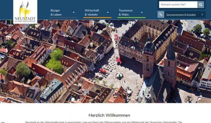 Die neue Homepage arbeitet mit vielen Fotos. (Foto: Stadt)