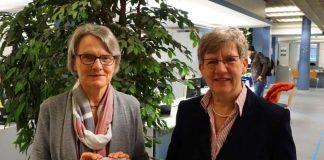 Dr. Ulrike Freundlieb und Felicitas Kubala stellten den Mannheimer Familienpass vor (Foto: Stadt Mannheim)