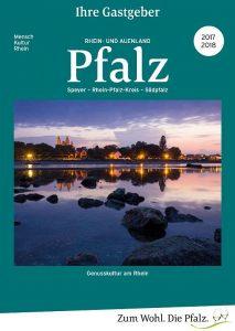 Gastgeberverzeichnis Rheinebene und Südpfalz 2017/2018 (Foto: Pfalz-Touristik e.V.)
