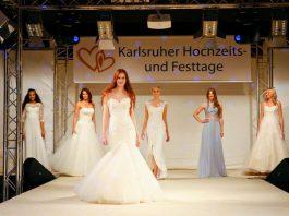 Große Modenschau auf den Karlsruher Hochzeits- und Festtagen (Foto: KMK)