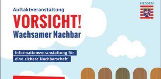 Plakat Wachsamer Nachbar