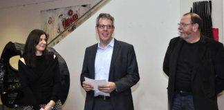 Eröffnung der Ausstellung von Sandra Obel und Bernhard Hossner (Foto: Kreis Bergstraße)